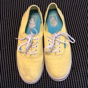 Yellow Vans Shoes